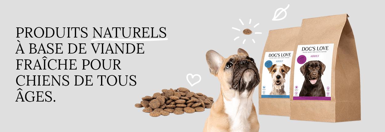 DOG'S LOVE croquettes pour chien